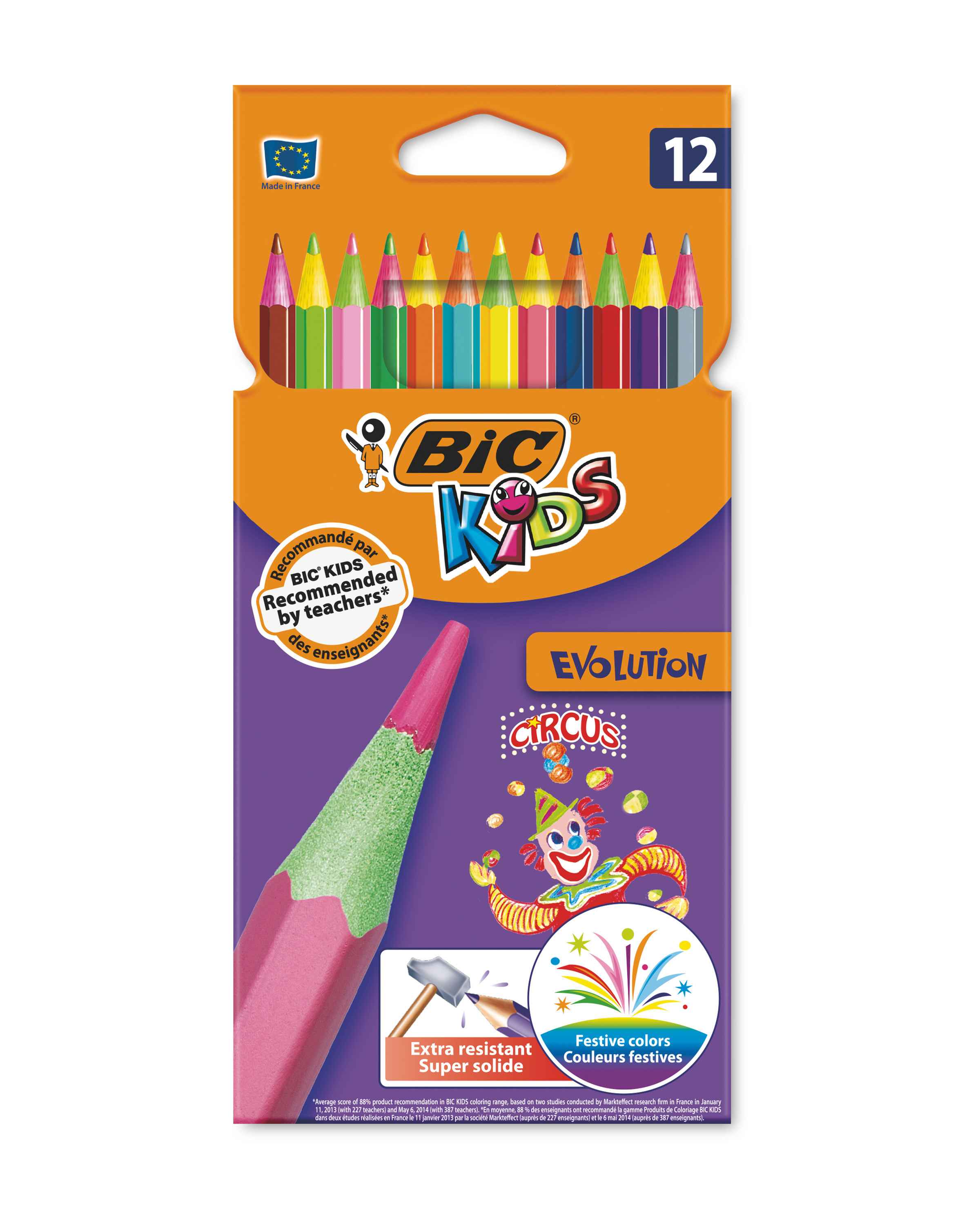 BIC Kids Evolution Colouring Pencils