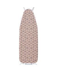 Minky Geometric Ironing Board Cover