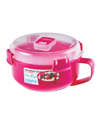 Sistema Breakfast Bowl - Pink