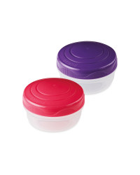 Pink/Purple Portion Pods 2 Pack