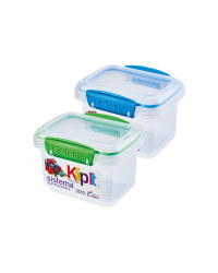 Blue/Green 400ml Containers 2 Pack