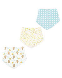 Baby Bear Dribble Bibs 3 Pack