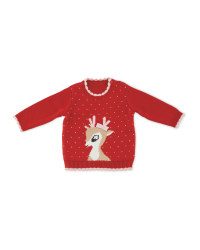 Baby Rudolph Jumper