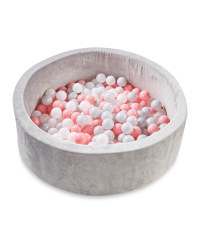 Nuby Grey/Pink Ball Pit