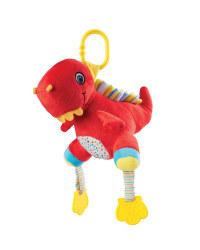 Baby Plush Dinosaurs Pram Toy