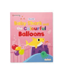 Baby Shark Book Colourful Ballons
