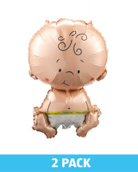 Baby Shower Baby Balloons 2 Pack