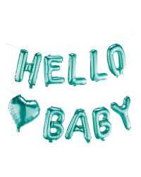 Hello Letter Baby Shower Balloons