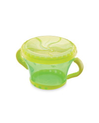 Baby Snack Keeper - Green/Yellow