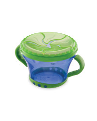 Baby Snack Keeper - Blue/Green