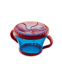 Baby Snack Keeper - Blue/Red