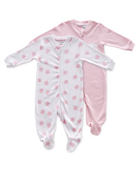 Baby Stars Sleepsuit 2 Pack