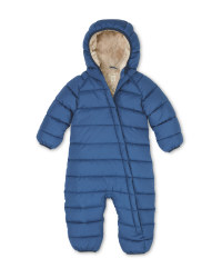 Lily & Dan Blue Baby Winter Overall
