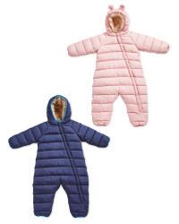 Baby Winter Overall Cuff
