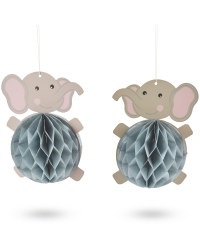 Baby Shower Honeycombs 2 Pack