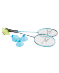 Badminton Set With Pop Up Net