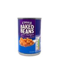 Baked Beans & Pork Sausages