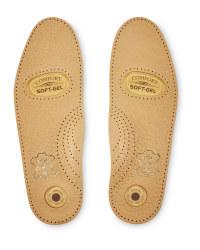 Bale Gel Heel Pad Leather Insoles