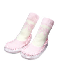 Lily & Dan Ballet Slipper Socks
