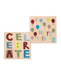 Balloon Birthday Cards 10-Pack