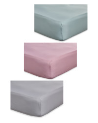 Bamboo Double Fitted Sheet