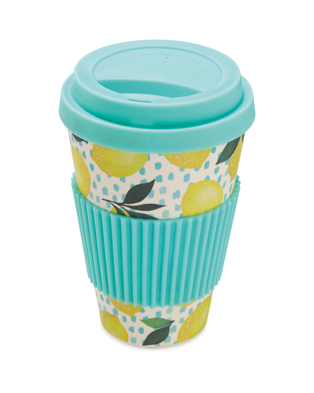 71738c9be0 Bamboo Travel Mug Lemons - ALDI UK