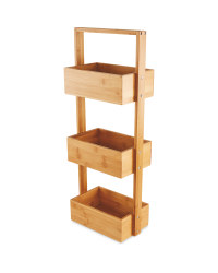 Bamboo Wooden Storage Caddy