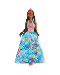 Barbie Blue Sparkle Princess Doll