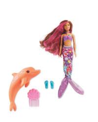 Barbie Doll Dolphin Magic Mermaid