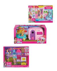 Barbie House, Playground & Camper