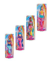Barbie Mermaid Doll 4 Pack