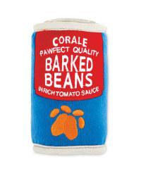 Barked Beans Plush Snacks Dog Toy