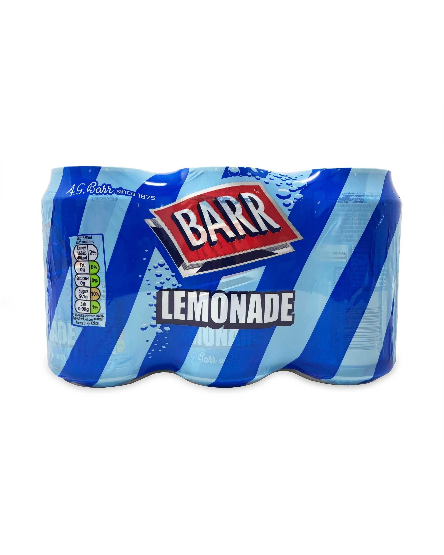 Barr Lemonade Cans