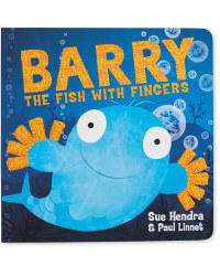 Barry Fish with Fingers Book