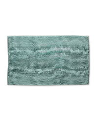 Chenille Bobble Bath Mat - Teal