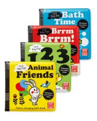 Bath Books 4 Pack