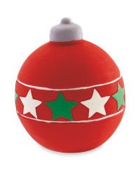 Bauble Squeaky Dog Toy
