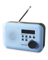 Bauhn DAB & FM Radio - Blue