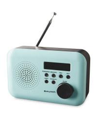 Bauhn DAB & FM Radio - Mint