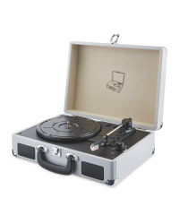 Reka Retro USB Record Player - Grey