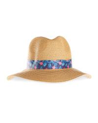 Avenue Ladies' Beach Hat - Light Brown
