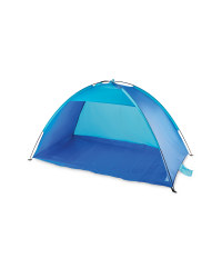 Beach Shelter - Blue/Light Blue