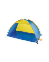 Beach Shelter - Blue/Yellow