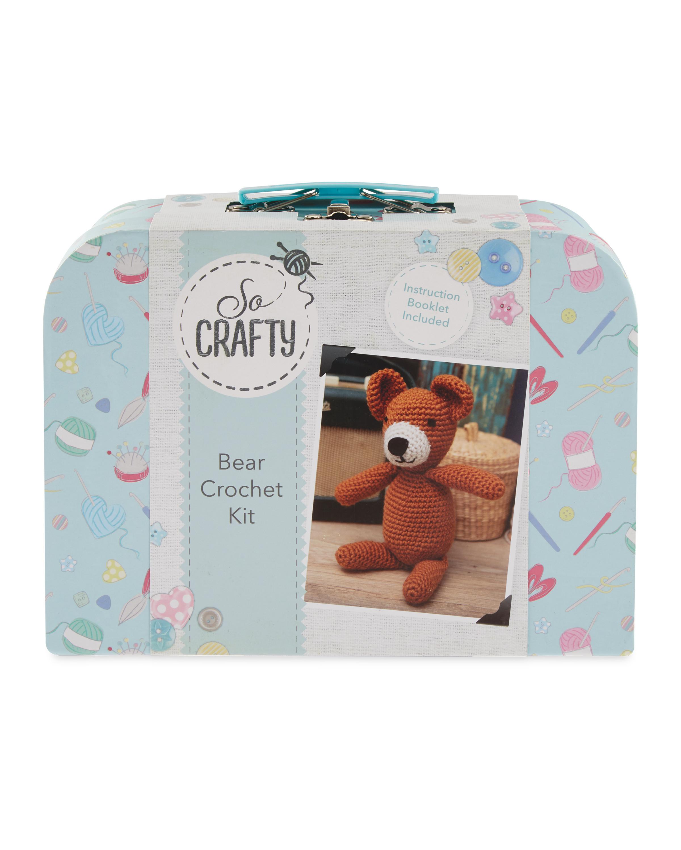 So Crafty Bear Crochet Kit Aldi Uk