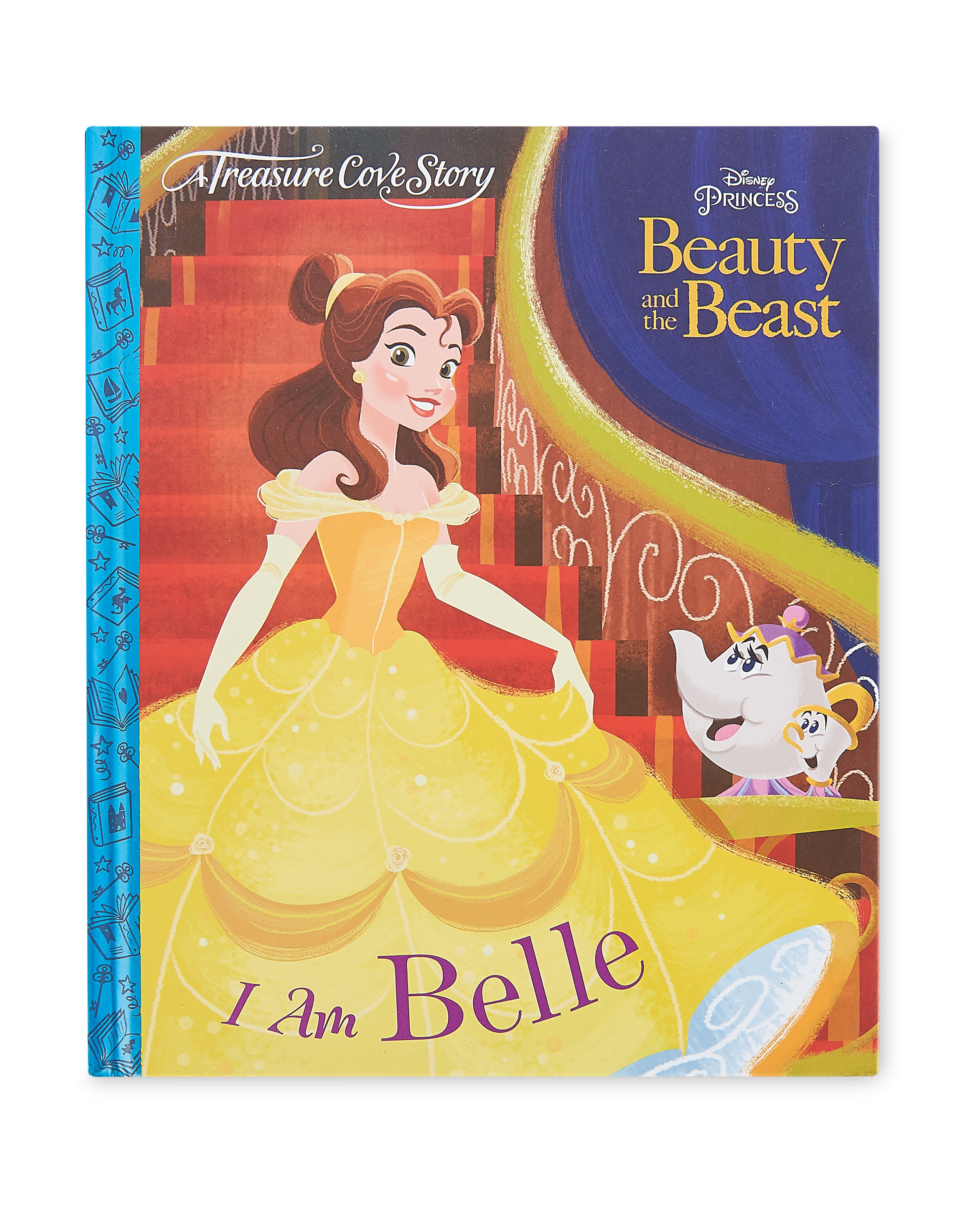 Beauty & The Beast - I am Belle Book