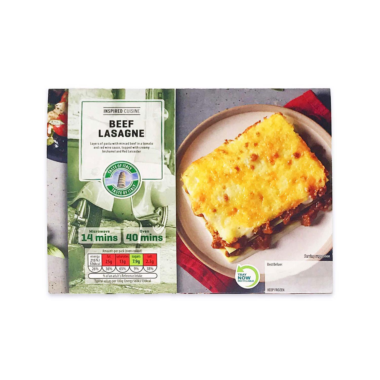 Inspired Cuisine Beef Lasagne