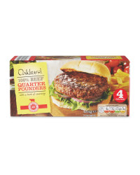 Beef Quarter Pounders