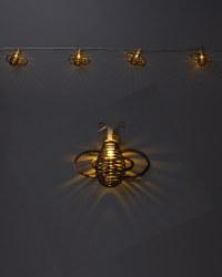 Bees Solar String Light Pack