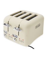 Beige De'Longhi Argento Toaster