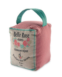 Belle Rose Tapestry Doorstop